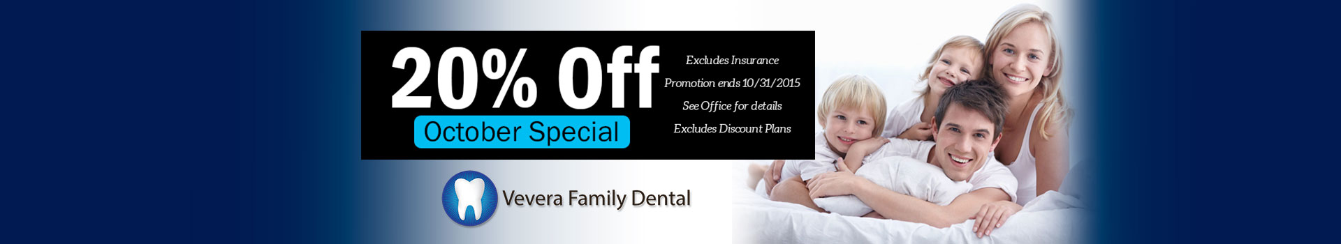 October Dental Special